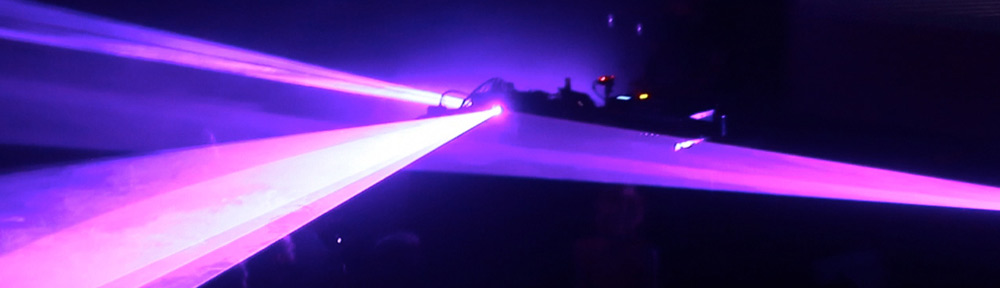 Interactive laser light show artists - Epic Lasers